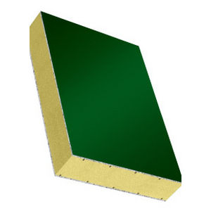 polystyrene foam core sandwich panel / aluminum facing / for ducts