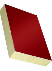 polyurethane core sandwich panel / PVC facing