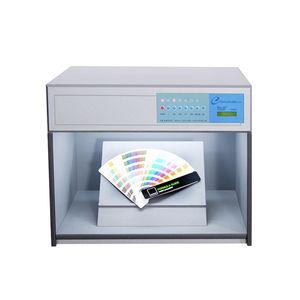 illumination test cabinet / for color assessment / UV