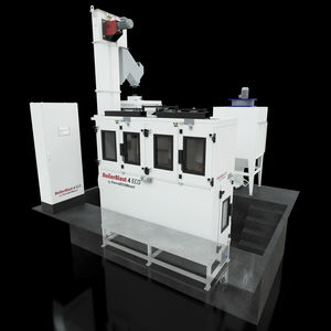 automatic sandblasting machine