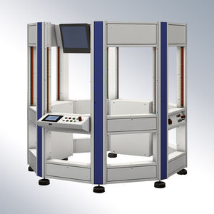 machine frame for rotary applications
