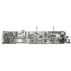 blister packaging machine / servo-driven / compact / for the medical industry