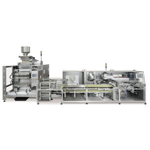 horizontal bagging machine / stick pack / for the pharmaceutical industry / for powders