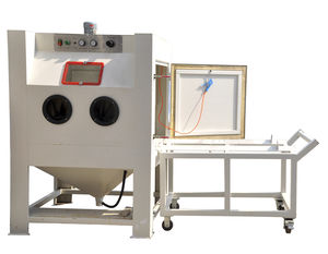 Manual sandblasting machine - All industrial manufacturers - Videos