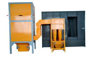 open paint booth