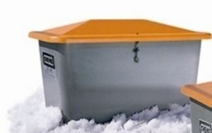 polyester crate / grit / for sand