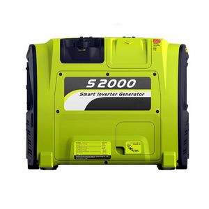 single-phase generator set / gasoline engine / portable / with cover