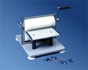 electric press / lamination / for aluminum foil / roller