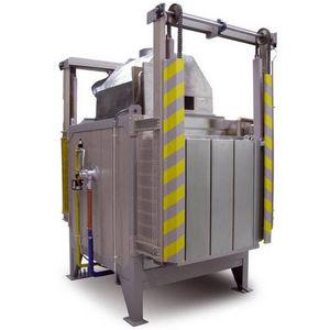 heat treatment furnace / hardening / chamber / gas