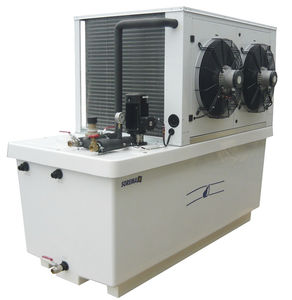 water chiller / mobile / air condenser / stainless steel