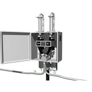 vacuum dosing feeder / volumetric / continuous-motion / for powders