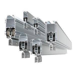 slide rail / carrier / aluminum / for heavy loads