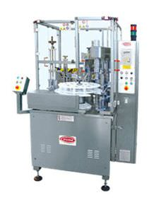 semi-automatic filling and capping machine