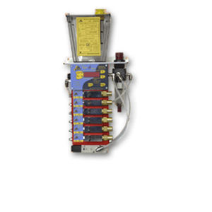air/oil lubrication system / continuous / electric