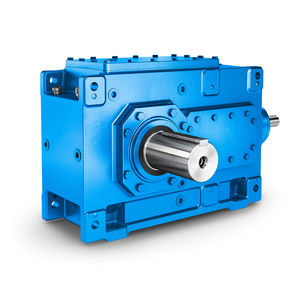 bevel gear reducer / helical / orthogonal / > 10 kNm