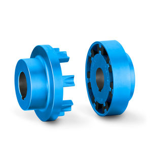torsionally flexible coupling / pin and bush / flexible / blower