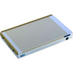 permanent magnet magnetic chuck / rectangular / for grinding / for milling