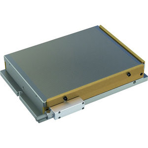 electro-permanent magnetic chuck / rectangular / for grinding / for milling