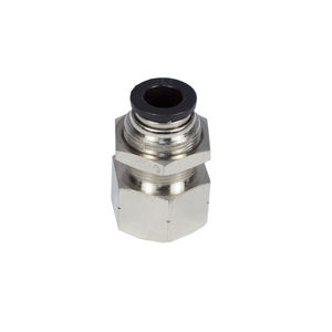 vacuum fitting / push-in / straight / polyurethane