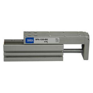 linear actuator / pneumatic / double-acting / precision