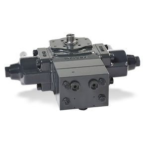 hydraulic valve actuator / rotary / quarter-turn / rack-and-pinion