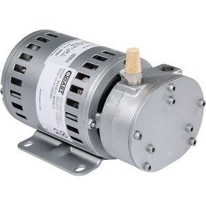 rotary vane vacuum pump / oil-free / single-stage / compact