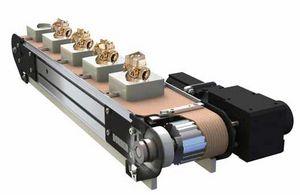 hinged belt conveyor belt / fabric / high-resistance