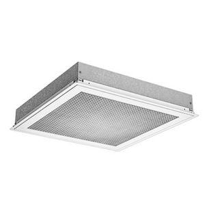 square air diffuser / ceiling / box / metal