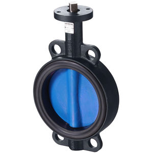 butterfly valve / shut-off / for water / flange