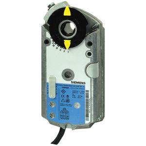 pneumatic damper actuator / linear / rotary