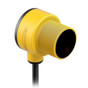 IP69K photoelectric sensor / with background suppression / diffuse reflective / retroreflective