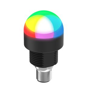 flashing indicator light / threaded / robust / IP67