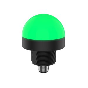 steady indicator light / LED / panel-mount / threaded