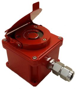 explosion-proof manual call point / fire alarm / ATEX / with glass breaker
