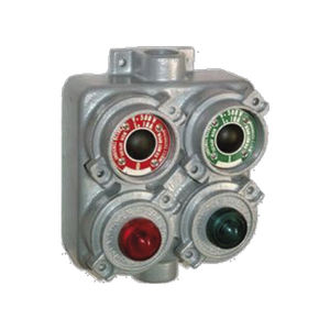2-button pendant station / IP65 / aluminum / rugged