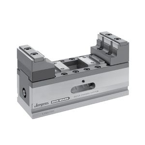 machine tool vise / self-centering / compact / concentric