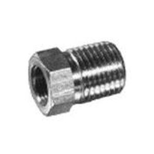 screw-in fitting / straight / hydraulic / pressure reducer