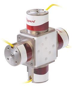 mixing valve / dispensing / PTFE / laboratory