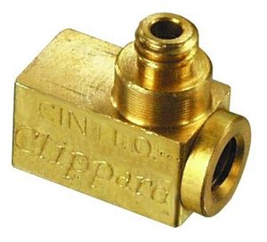 pneumatically-operated valve / miniature / quick-release exhaust