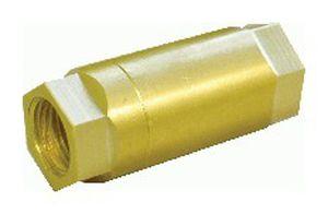 ball check valve / hydraulic / brass / in-line