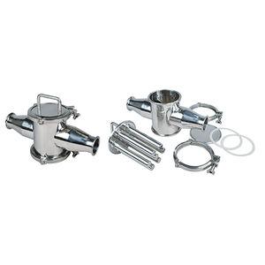 magnetic separator / for semi-liquids / liquid / easy cleaning