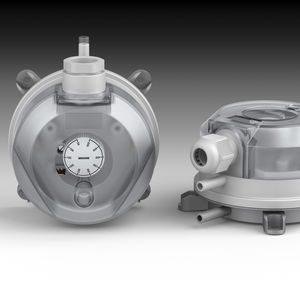 adjustable pressure switch / for air / differential / industrial