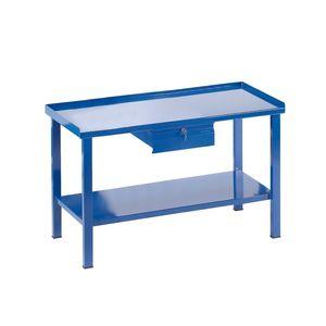 steel workbench / with drawer / monobloc