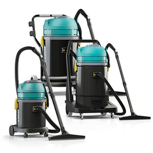 wet and dry vacuum cleaner / electric / mobile / compact