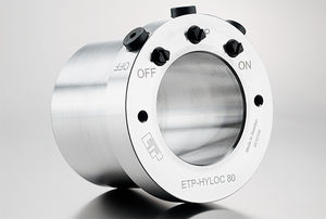 rigid coupling / for shafts / for heavy loads / shaft-hub