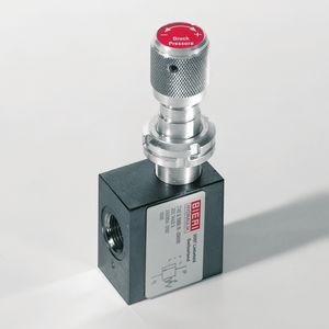 threaded relief valve
