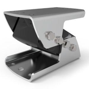 rectangular anti-vibration mount