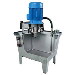 fluid collection tank / oil / for high-viscosity liquids / aluminum