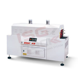 electric shrink tunnel / hot air / for food / double-chamber