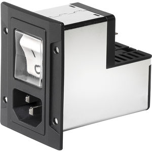 power entry module with switch